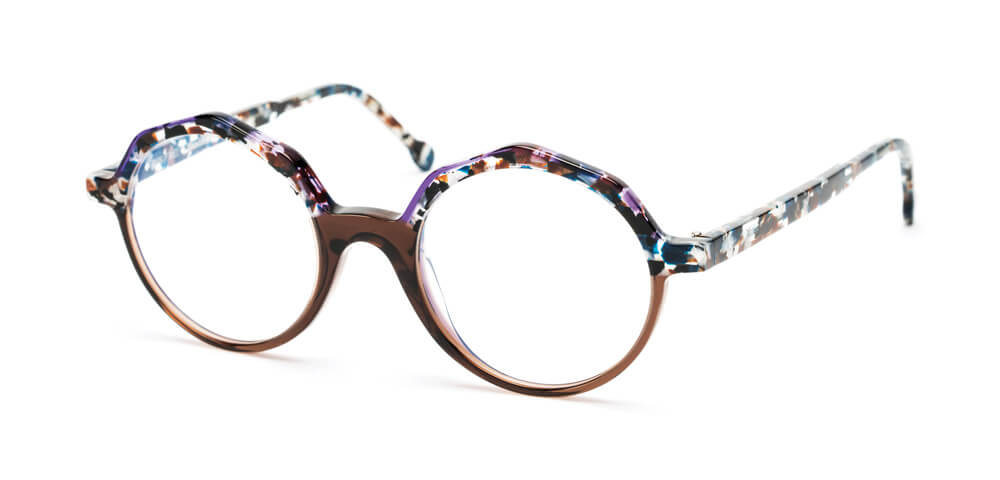 VIOLET / BLUE TORTOISE / BROWN
