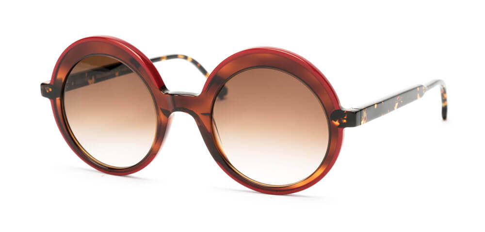RUBY RED / DARK TORTOISE / HAVANA - Gradient Dark Brown Lens