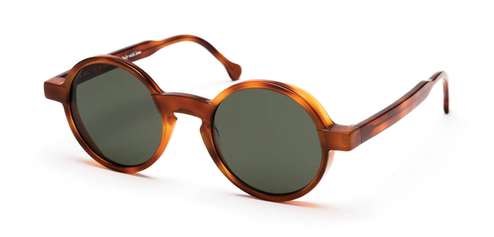 HONEY HAVANA - Plain Green Lens
