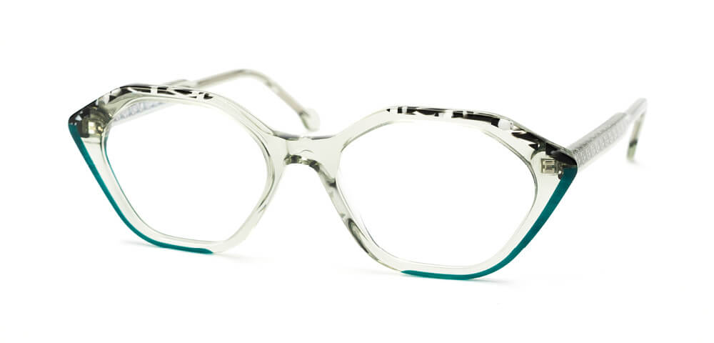 LIGHT GREEN / BLACK TORTOISE / GREEN